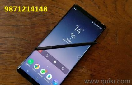 Samsung Note 8 9871214148 call  only serious buyer call don't times pass   Text, 3GB RAM, 64 GB ROM, Expandable Upto 400 GB, 6 2 inch Quad HD+  Display,