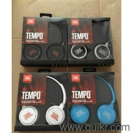 JBLTEMPO HIGH QUALITY HEADSET 3 5MM JACK PIN COMFORTABLE TO ALL MOBILES  CALL RECEVING OPTION AVAILABLE