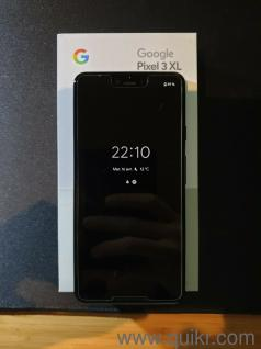 WOW Google Pixel 3 XL 128go Just Black (Unlocked) - comes with valid bill  and warranty