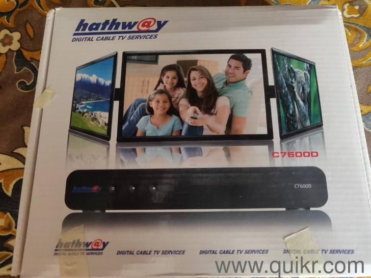 Hathway Cable setup Box and Binatone WIFI router - Everything Else