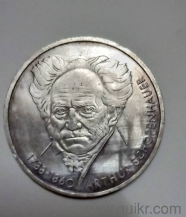 10 Deutsche Mark Germany Silver Coin Country Germany - Federal Republic  (Germany) Type Non circulating coin Year 1988 Value 10 Deutsche Mark (10  DEM)