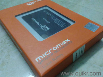 Brand New Micromax Battery i can fit Different models Micromax mobile i  have added pic u can see Call me more details