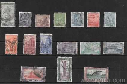Rare Vintage Old India Stamps