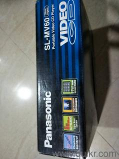 panasonic vcd nd mp3 player in very good condition