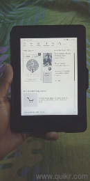 Amazon Kindle Paperwhite 7th generation with flip over, very less used