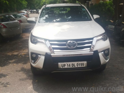 White 2017 Toyota Fortuner 3 0 4x4 AT 34,000 kms kms driven