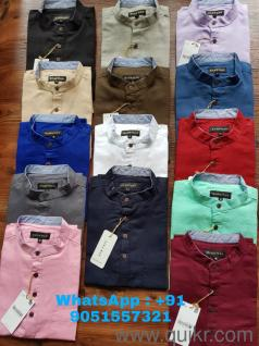 Branded PURE LINEN Shirts in Wholesale