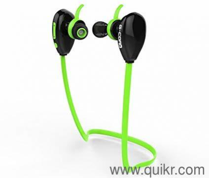 Brand New-G-Cord Sports Bluetooth Wirelss Earphone with Stereo Sound and  Noise Cancelling Mic