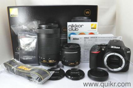 Brand new Nikon d5600 for sale at affordable price comes with complete  accessories and lens with bills and complete 1 year warranty