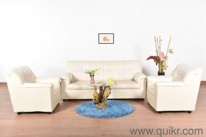 Magnificent Jerilyn Leatherette 5 Seater Sofa Set Beatyapartments Chair Design Images Beatyapartmentscom