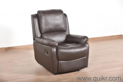 Fabulous Tribbiani Leatherette 1 Seater Recliner By Urban Ladder Pabps2019 Chair Design Images Pabps2019Com