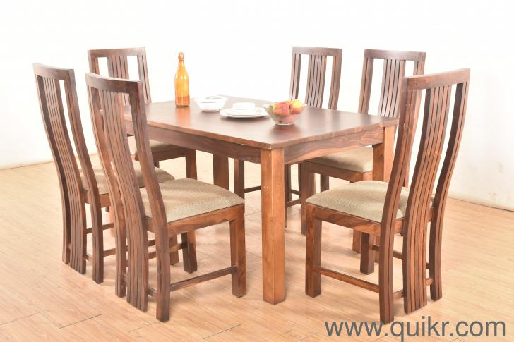 Neelkant Sheesham 6-seater Dining Table Set - Unboxed Home ...