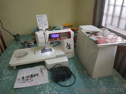 USHA JENOMA Dream maker 120 Fully automatic sewing machine VB201705171774173 ak LWBP95063478 1596429588
