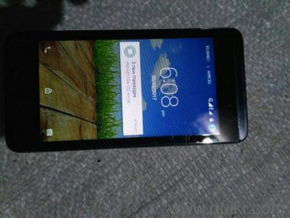 Micromax CANVAS FIRE 4 A107 more than 1 year old, little bit crack on  screen but phone works perfectly , 1GB ram and 8GB internal