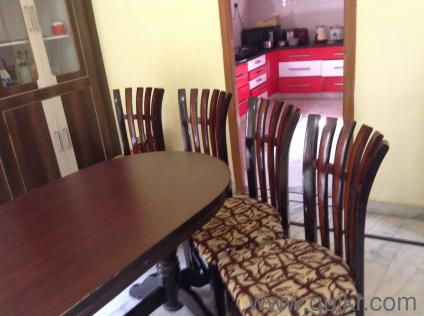 Dining Set With Oblong Table And Four Chairs   Gently Home   Office ...
