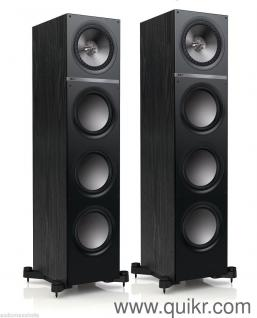 home theater music system. premium kef q-900 tower speaker (pair) - 200w rms peak power output ( home theater music system