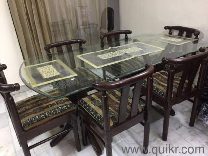 5 Chocolate Brown Fine Condition Dining TableUsed Tables Online In India Home Office Furniture