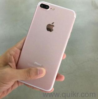 Apple Iphone 7plus 256Gb Dubai Clone with ios 10 01 Upgraded 3 Gb ram 256  gb rom Camera 15 mp and 5 1 mp 2 5 ghz quad core processor Itunes Icloud
