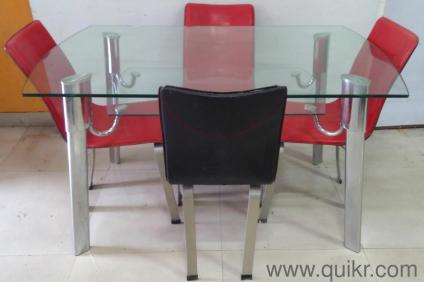 NAVRATRI SALEQuikr Certifed Gently Used 4 Seater Dining