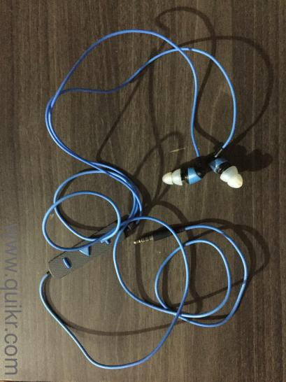 Klipsch Image S4i Rugged In Ear Headphone With Mic Used