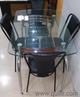 NAVRATRI SALE QUIKR CERTIFIED 4 Seater Dining Table For Sale