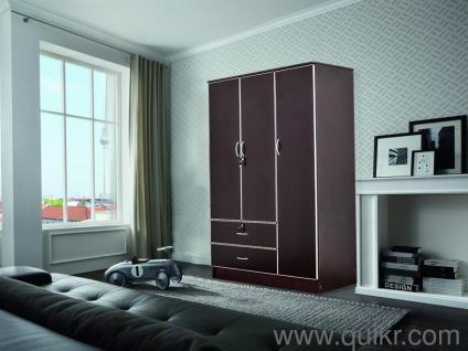 wardrobe 8 feet. unboxed three door wardrobe by marko u20b9 13999 across gurgaon make an offer 8 feet