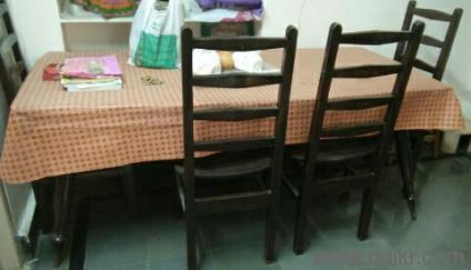 PREMIUM Teakwood 6 Seater Dining Table