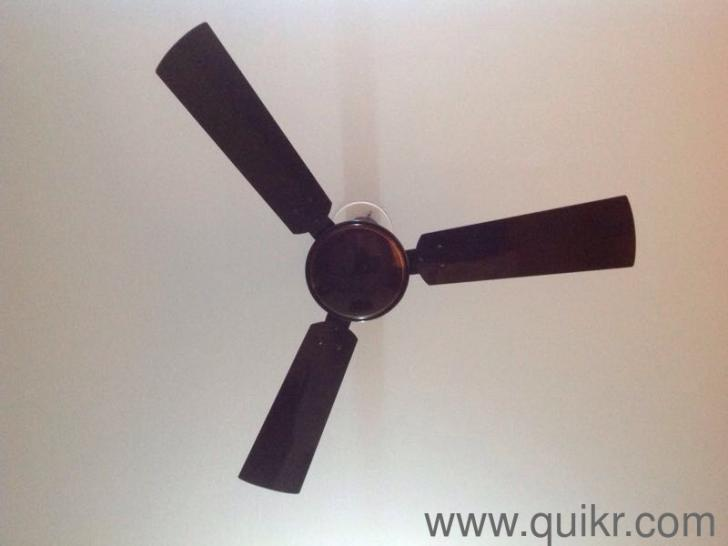 Bajaj ceiling fan 3 blade brown color gently home kitchen share with friends mozeypictures Choice Image