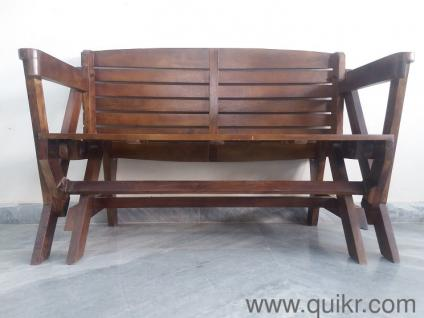 PREMIUM Bench Cum Dining Wooden Foldable Table