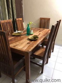 VERIFIED SELLER Amazing Sheesham Wood 6 Seater Dining