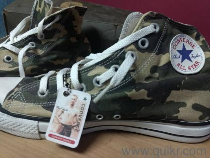 6. New Converse size 10 high ankle sneakers