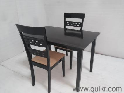 2 Seater Wooden Dining Table For Sale Quikr Certified