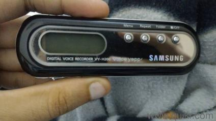 For Sale Samsung Digital Voice Recorder at Dilshad Garden