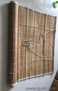 Cane Pull Up Curtains