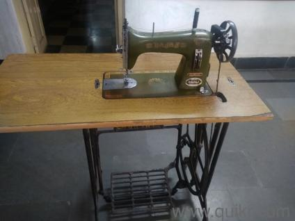 Vidya Sewing Machine Amrela Madal Pohto Used Home Decor Classy Vidya Sewing Machine With Table