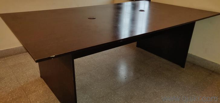 Used Office Table Feet Seating Gently Home Office - 4 feet office table