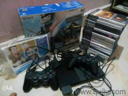 SONY PS2 GAMES NEW CONDITION 1 HIARS OLD NEW CONDITION AND CDS 1 WAR LESS  RIMOT CONTROL EXTRA