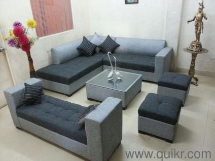 cb8a85bbb3 PREMIUM   URGENT Sofa set high quality fabric with center table