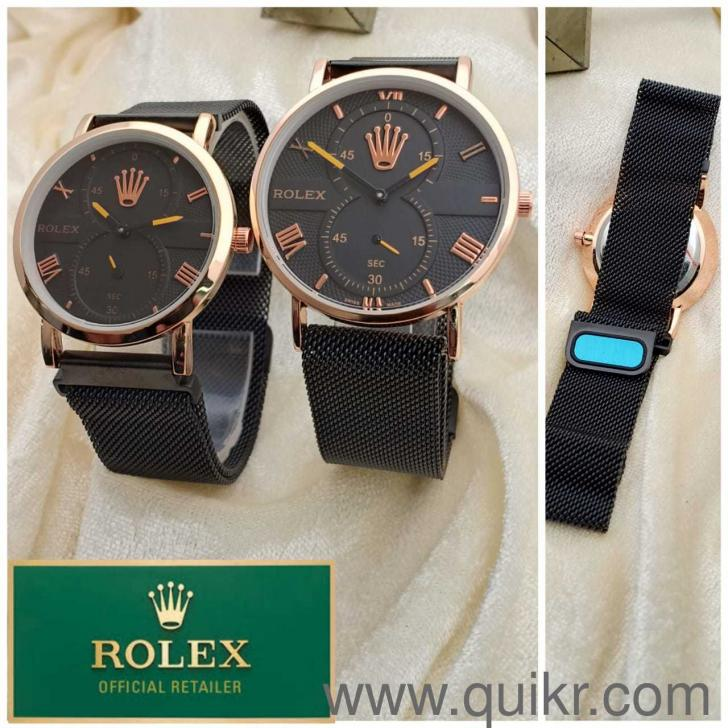 Rolex magnetic belt couple watch series analog watch brand watches mumbai quikrgoods for Magnetic watches