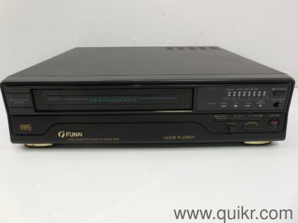 Funai Video Cassette Player - VCP (Made in Japan) excellent condition Model  No  VIP 3000A MK III with Remote Control
