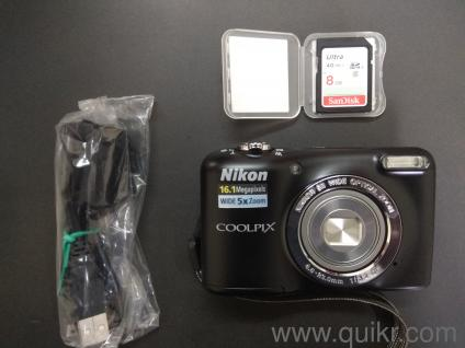 Never Used Nikon Coolpix Full Hd Camera For Immediate Sale