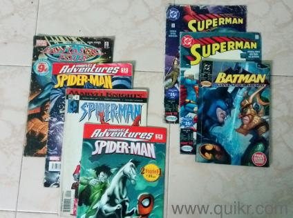 Rare Comics collection - 4 Marvel Adventure comics and 3 Gotham comics, all  in good condition, a very good collector's item