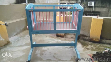 Baby Crib New Custom Made Along With Swing Function Cradles And