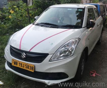 White 2018 Maruti Suzuki Dzire Swift Dzire Tour S 30 000 Kms Driven