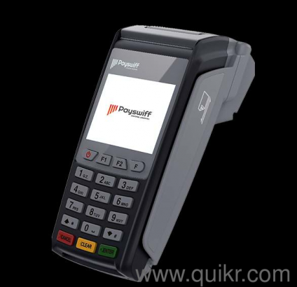 Payswiff New credit / debit card swipe machine,link with any savings or  current account,No money Hold ,life time free rental