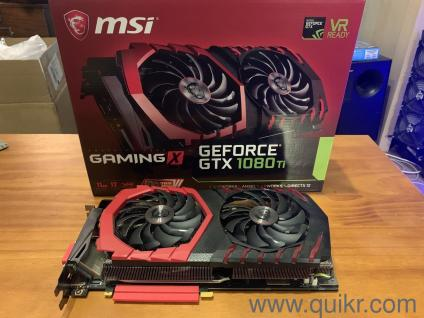 1080 ti MSI GeForce GTX 1080 Ti Gaming X - NVIDIA 11GB GDDR5X PCI Express  3 0 x16 Video with bill and 3 years Warranty