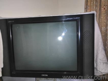 Tv from onida company , in running and good condition