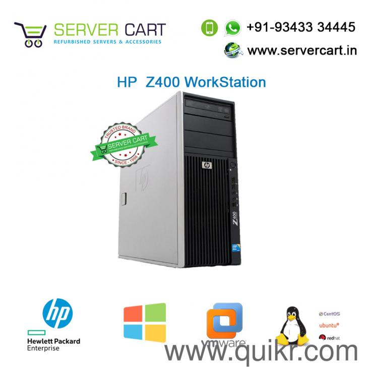 HP z400 Xeon Graphical Video Rendering Gaming WorkStation Server