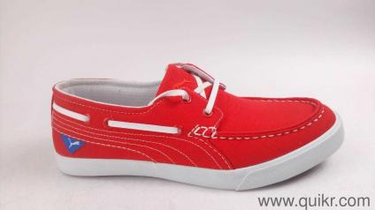 773ec7faa5bc Puma Men s Ferry IDP High Risk Red-Puma White Boat Shoes - 6 UK