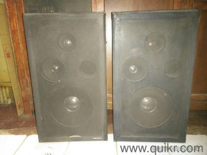 ahuja dj speakers 10000 watts for open loune | Used Music